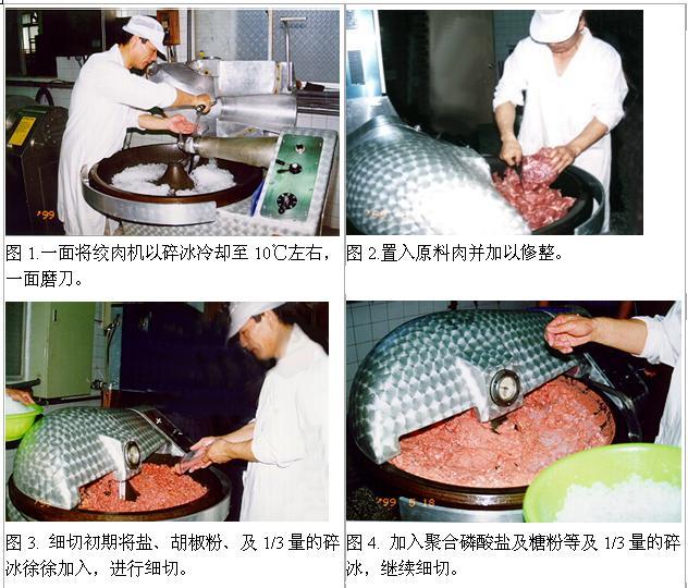 法兰克福香肠frankfurters制作流程