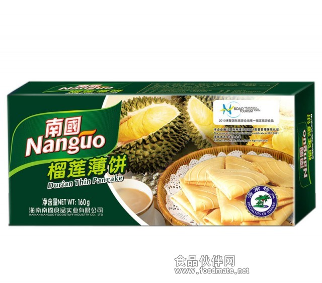 海南特产南国食品牌菠萝蜜干 250g/袋