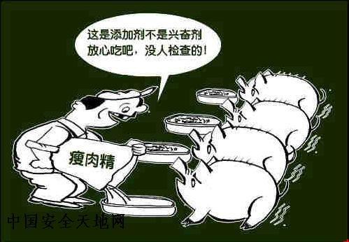 瘦肉精-食品安全漫画与挂图-食品专题